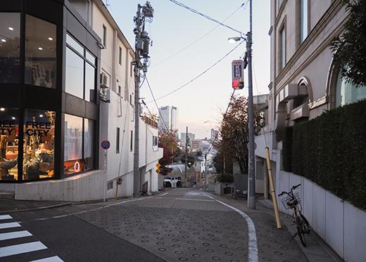 西郷従道の別邸と上村坂
