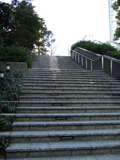 泉ガーデンの階段いろいろ3