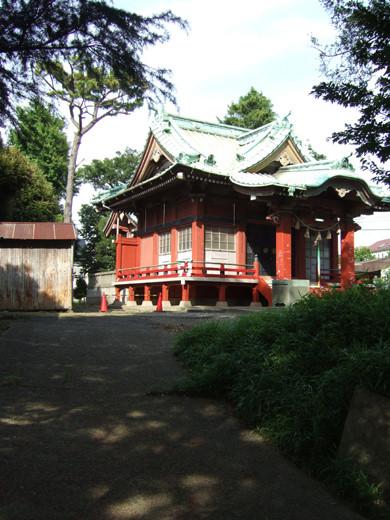 子安八幡神社のスロープ12