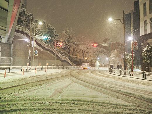大雪の日の乃木坂2