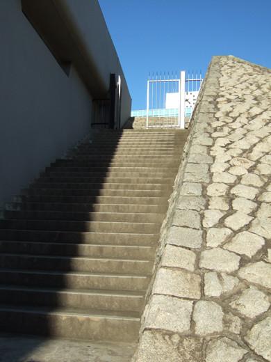 代々木体育館の石垣階段3