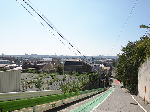 岡本三丁目の坂 [東京富士見坂](NO.257)6