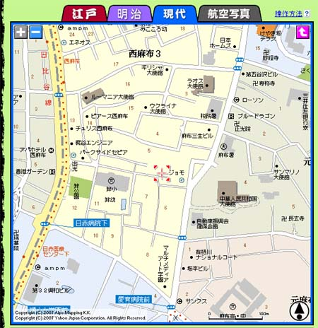 古地図_現代