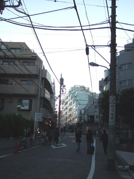 とある街の風景(内記坂)2