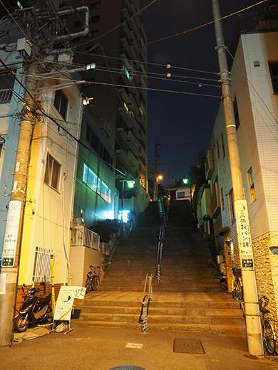 神田明神男坂の夜散歩2