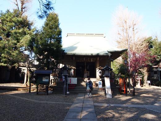 上目黒氷川神社の階段5