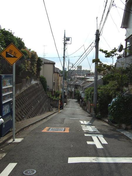 南馬込4丁目の臼田坂そば1