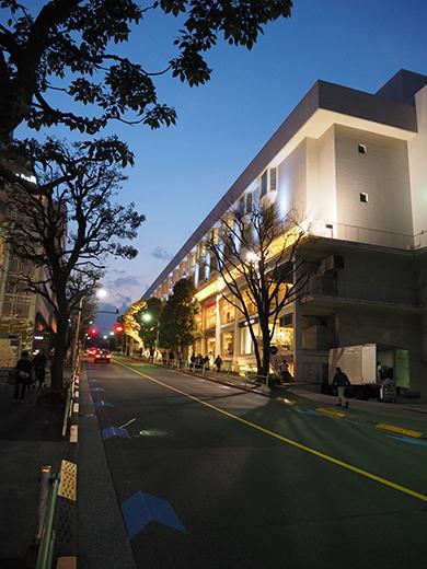 品川・柘榴坂の夜散歩1