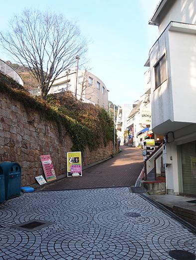 北野町広場へと上る階段2