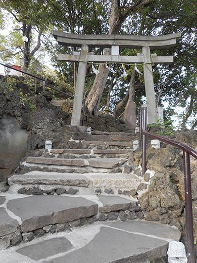 多摩川浅間神社の男坂?8
