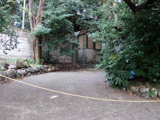 渋谷氷川神社のぐるぐるスロープ7