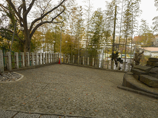 多摩川浅間神社の女坂かも?5