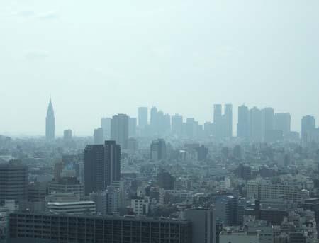 文京シビックセンターの展望台1
