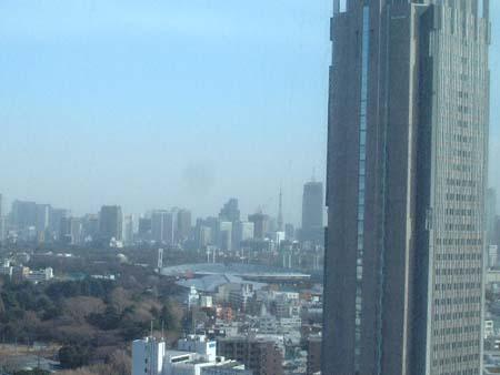 新宿からの東京タワー
