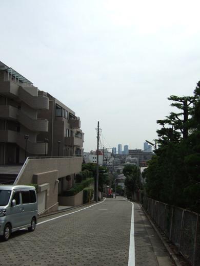 大田区仲池上2丁目の眺望坂4