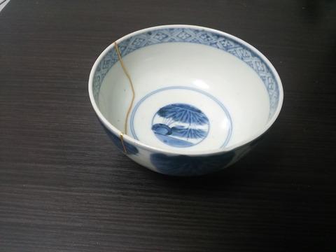 茶碗 修復後 1