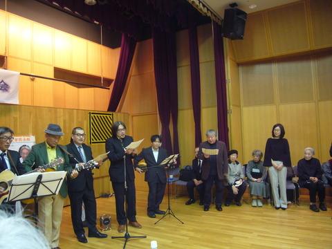 19「憲法フォークジャンボリー in 東京」メンバーの歌