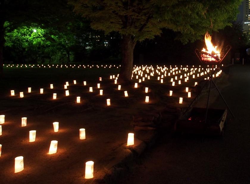能面の蝋燭行灯(2)