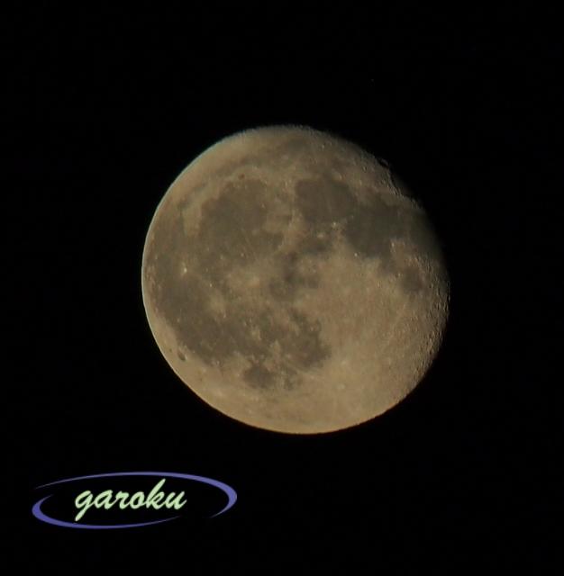 月齢15(満月の次の日)