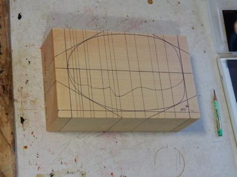 平面の製図