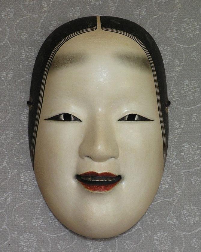 03.小面(赤鶴作写し)_雅勒作