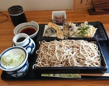 6.帰りの昼食_蕎麦
