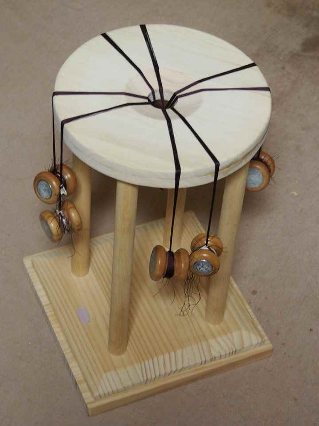 白木の丸台