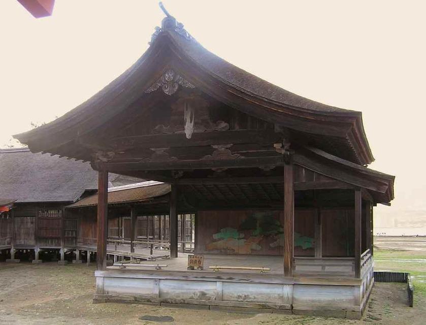 厳島神社能舞台_'08.11