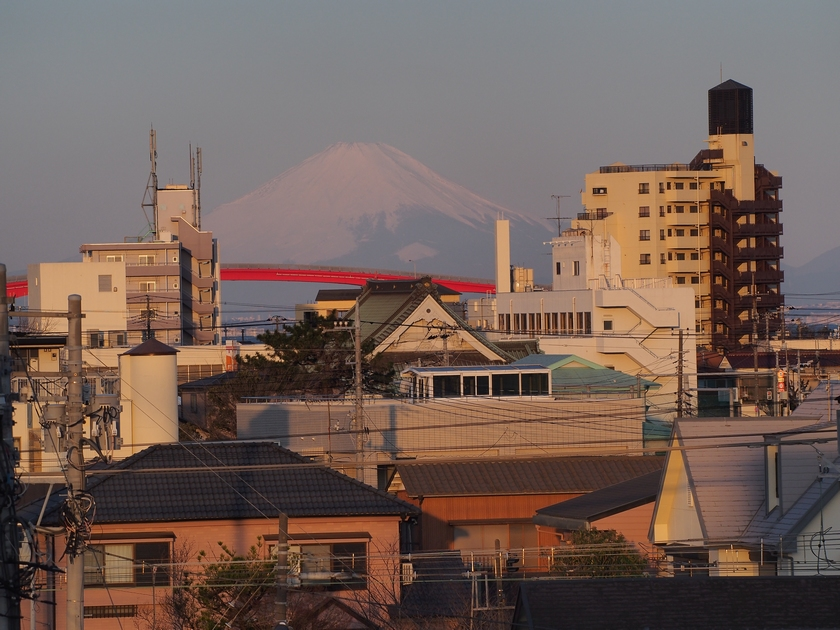 6.ホテルからの富士