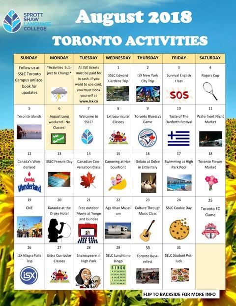 August-activities-Tronto