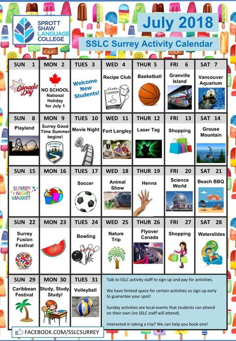 sslc-surrey-july-2018-activities-1