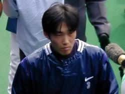 いつもクールな吉岡選手