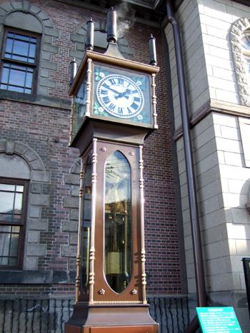 オルゴール堂蒸気時計