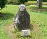 吉備姫王墓の猿石