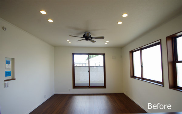 F様邸/Livingroom