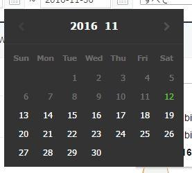 201611スタンプ数あ・・・