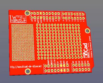 Arduino用ユニバーサル基板シールドのメイキング動画