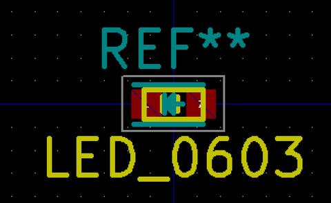 LEDフットプリント