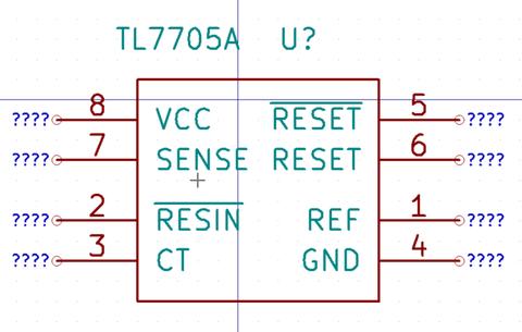 【KiCad Tips】回路図シンボルの信号名を負論理の表示にする方法