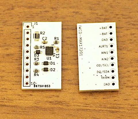 バッテリー残量計IC(MAX17201)のモジュール基板を作りました 〜KiCadでの設計作業編〜