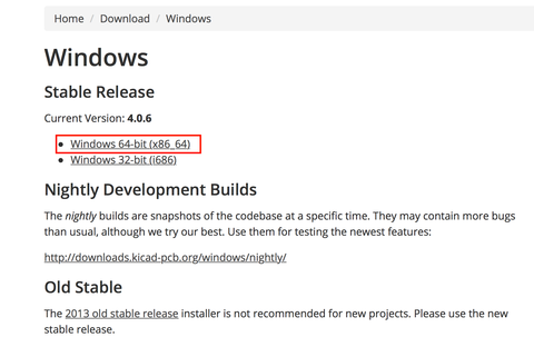 KiCadを4.0.6安定版にアップデートしました(前編)