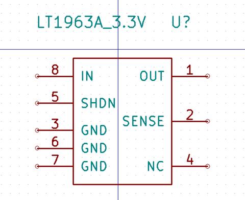 LT1963コンポーネント