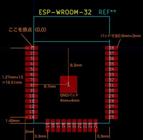 ESPフットプリント作成2