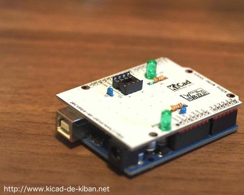 【基板紹介編】8ピンATtiny(AVRマイコン)の書き込み用Arduinoシールドの作成