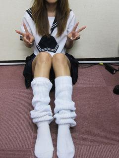 マユミちゃんの制服とルーズ。