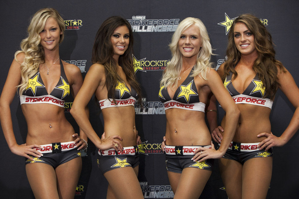 【Monday Ring Girl】Strikeforce Challengers 9