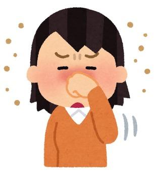 allergy_kosuru_hana_woman_kafun