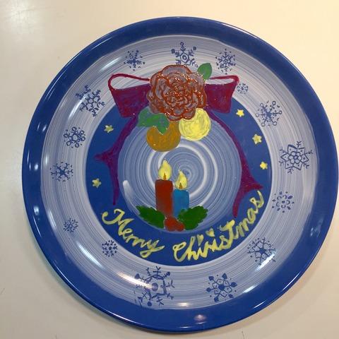12月クリスマスプレート