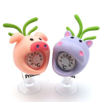 GREENBEE 温度計(カバ)