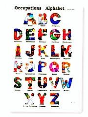 アルファベットポスター